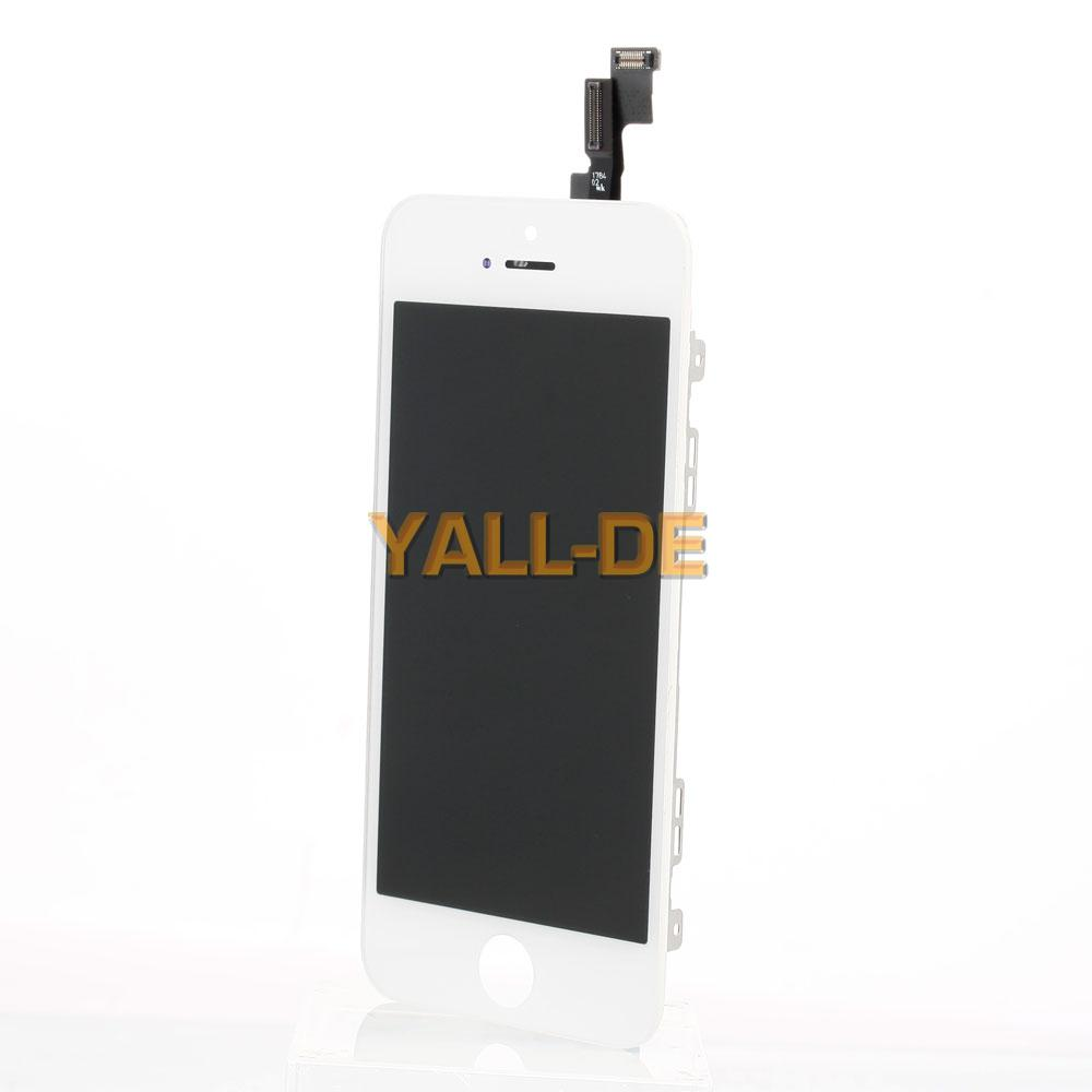 komplettset display bildschirm lcd touchscreen digitizer f r iphone 5s lcd wei ebay. Black Bedroom Furniture Sets. Home Design Ideas